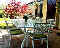 metal garden furniture garden furniture metal outdoor sets