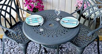 2 seater garden furniture sets