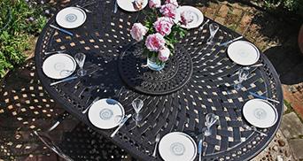 8 seater garden furniture sets