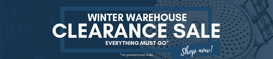 Winter Warehouse Clearance Sale